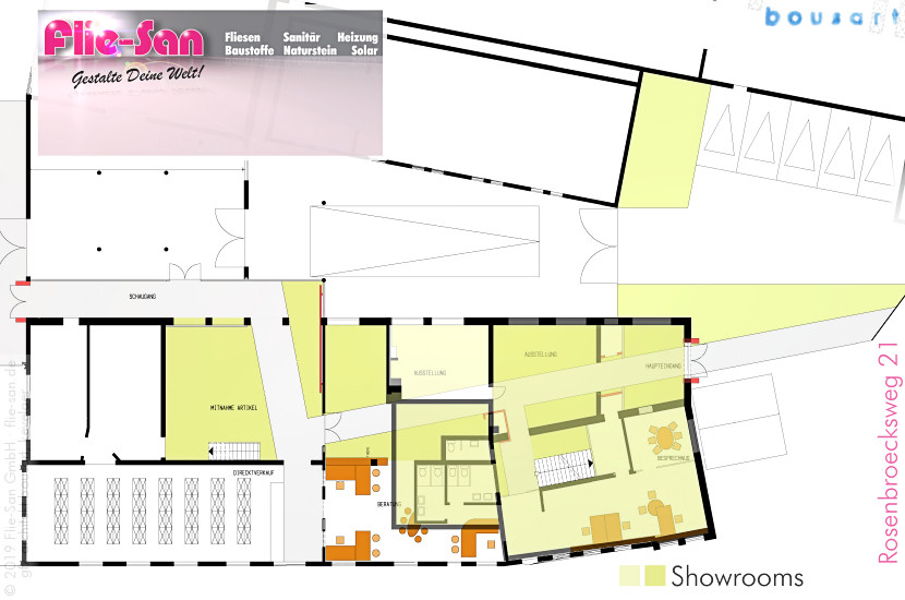 Gallery Profile Flie-San • planned & realised